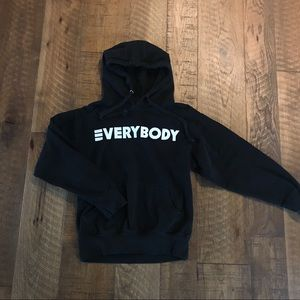 Logic Everybody Tour Merch Hoodie Size Small Black
